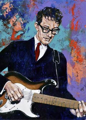 Buddy_Holly_-_Limited_Edition_On_Adamnfineartist.com
