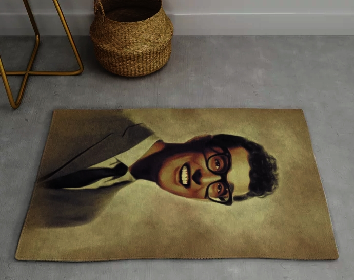 Buddy Holly Music Legends Rugs by Sepentfilm on Society6