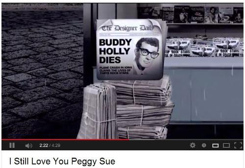 I STILL LOVE YOU PEGGY SUE - VIDEO SCREENSHOT
