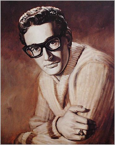 BUDDY_HOLLY_Painting