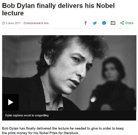 BOB DYLAN mentions BUDDY HOLLY
