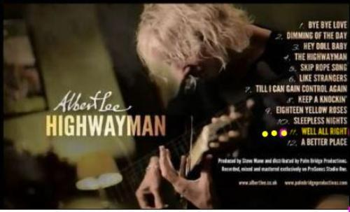 Albert Lee Solo Album Highwayman