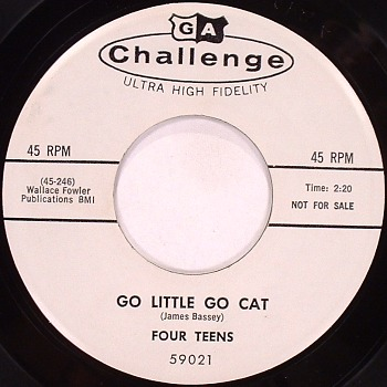 FOUR TEENS - GO LITTLE GO CAT