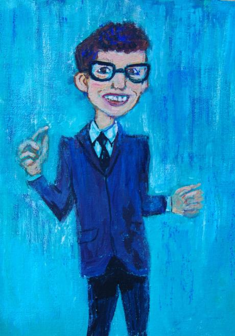 Buddy Holly Poster - fiveprime