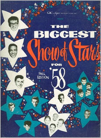 THE BIGGEST SHOW OF STARS FOR 1958 - FALL EDITION