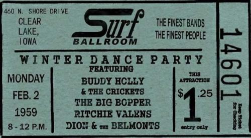 SURF TICKET 2  - 2 - 1959