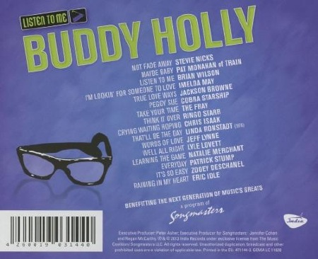 LISTEN TO ME BUDDY HOLLY - GERMANY 2013