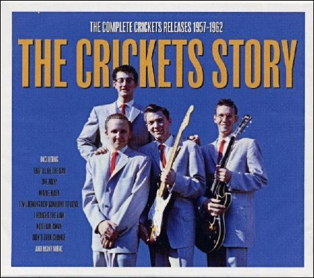 THE_CRICKETS_STORY_NOT NOW MUSIC  NOTCCD642  2CD in slip sleeve & jewel case UK 2017  (Made in the EU)