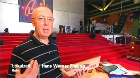 Hans on TV Sept 1, 2009