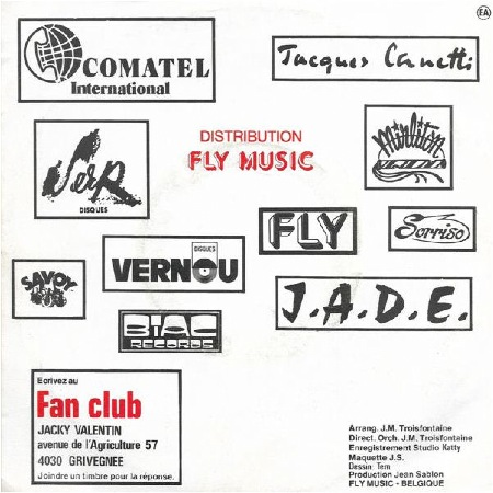 FLY RECORDS F.20.706  Belgium  (Year unknown)