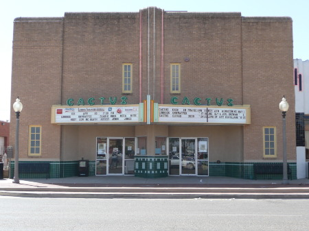 CACTUS THEATER LUBBOCK TEXAS