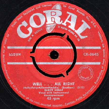 BUDDY HOLLY Well . . . All Right