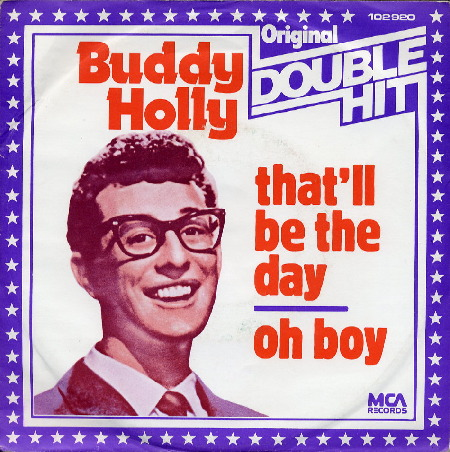 Buddy Holly on MCA Germany