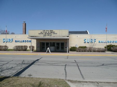 SURF BALLROOM, CLEAR LAKE IOWA, April 2009