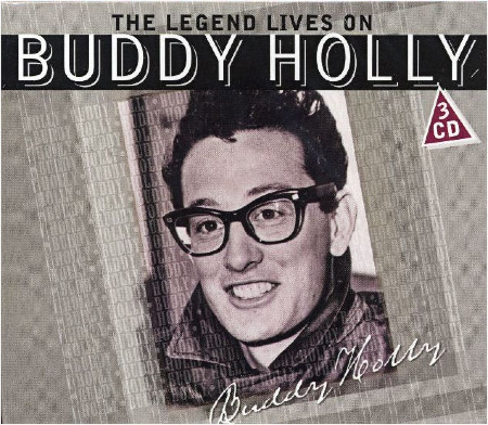 THE LEGEND LIVES ON - BUDDY HOLLY - 3 CD BOX SET