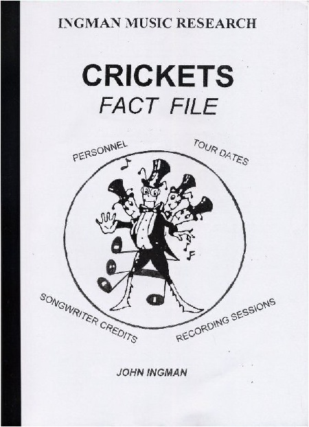 CRICKETS FACT FILE by the late John Ingman