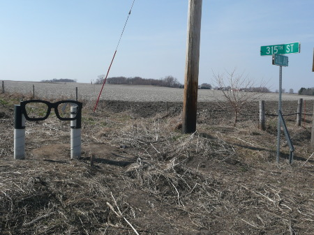 Way to Buddy Holly Crash Site 2
