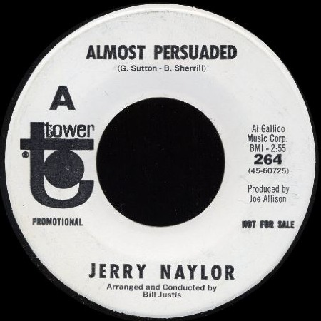 ALMOST PERSUADED - Jerry Naylor