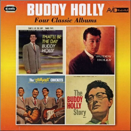 BUDDY_HOLLY_FOUR_CLASSIC_ALBUMS