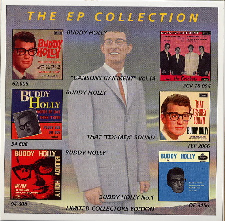 THE EP COLLECTION, BUDDY HOLLY     VOL. 2