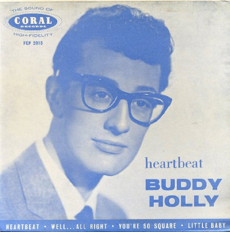 EP HEARTBEAT - BUDDY HOLLY - IRELAND