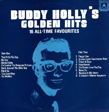buddy holly's golden hits