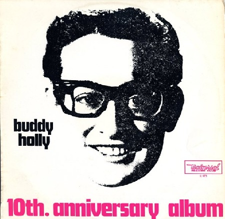buddy holly 10th. anniversary album