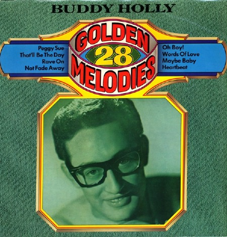BUDDY HOLLY 28 GOLDEN MELODIES