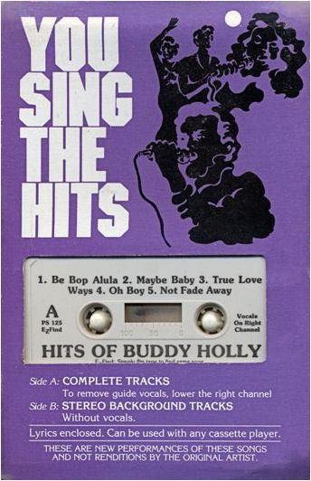 YOU SING THE HITS - HITS OF BUDDY HOLLY