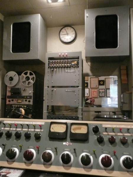Control Room Norman Petty Recording Studios