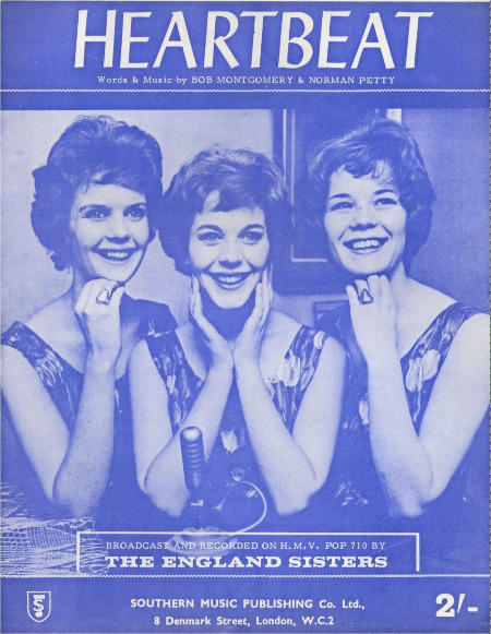 HEARTBEAT - The England Sisters - Sheet Music