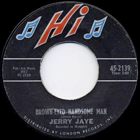 BROWN EYED HANDSOME MAN - Jerry Jaye