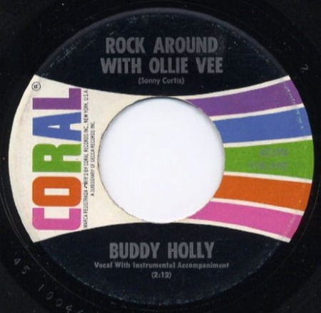 BUDDY HOLLY Rock around with Ollie Vee