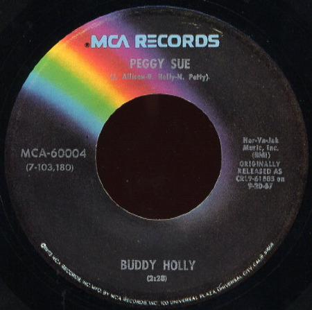 PEGGY SUE Buddy Holly