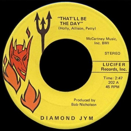 Diamond Jym - That'll be the day - THE CRICKETS
