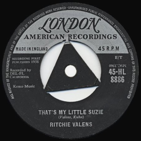 That's My Little Suzie - RITCHIE VALENS