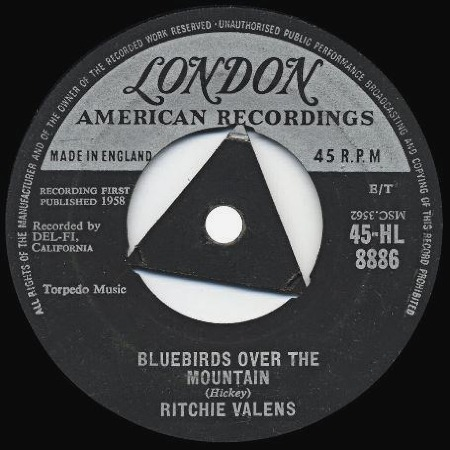 Bluebirds Over The Mountain - RITCHIE VALENS