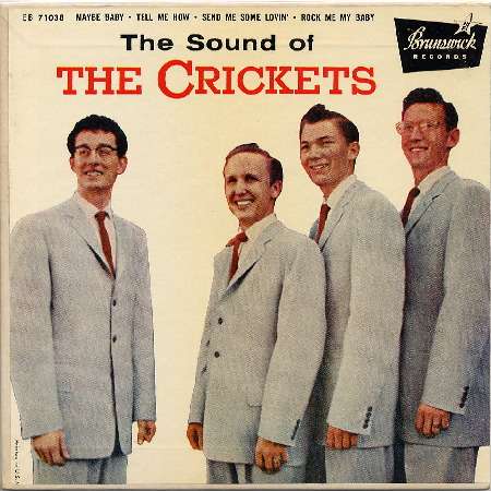 EP THE SOUND OF THE CRICKETS