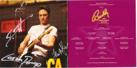 Autogramme der Hauptdarsteller 2009 BUDDY Essen