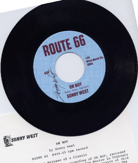 OH BOY - Sonny West