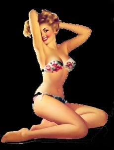 '50s Pin Up Girl